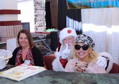 Santa at the Norton Trade Show