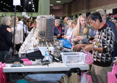 Retailers wholesale shopping at the Norton Trade Show